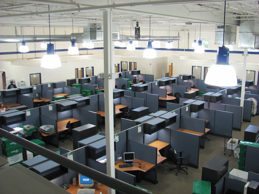 commercial construction planning for offices