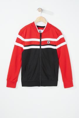 boys fashion block active jacket