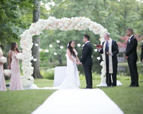 outdoor garden wedding venue nj