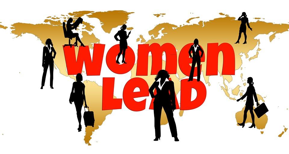 women leading in business