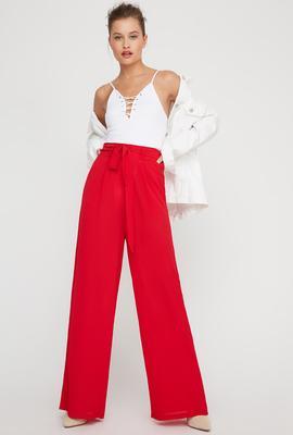 women fashion wide pants palazzo