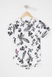 boys fashion floral tropical t-shirt